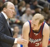 Mike Dunleavy and Chris Kaman - Icon Sports Media