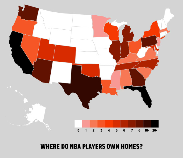 NBA Real Estate