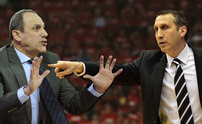 Ettore Messina and David Blatt - Getty Images