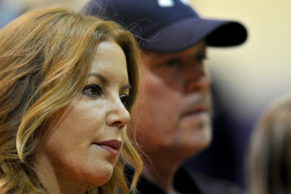 Jeanie and Jim Buss - USA TODAY Sports Images